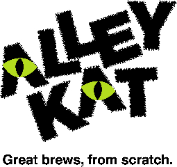 Alley Kat logo - Great brews, from Scratch