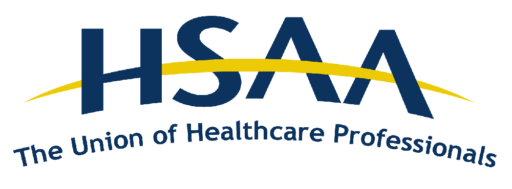 Health Sciences Association of Alberta logo