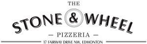 The Stone and Wheel Pizzeria logo
