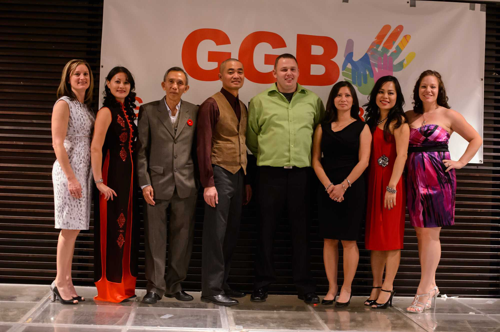2014 GGB fundraising dinner team