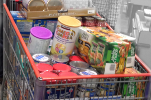 2014- Edmonton Food Bank donation from Generously Giving Back
