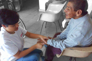 2015 Delivered necessities to Nursing Home