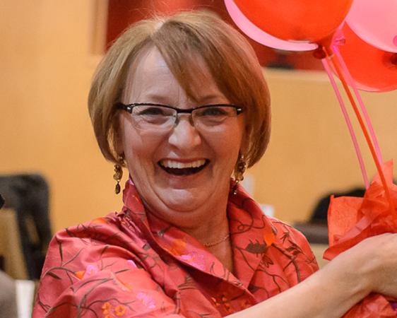 Sandra Oliver - Volunteer for GGB