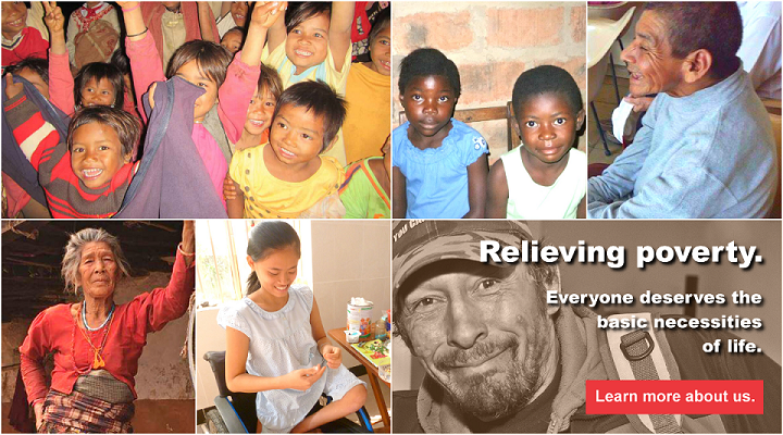 Generously Giving Back - A Canadian Registered Charity