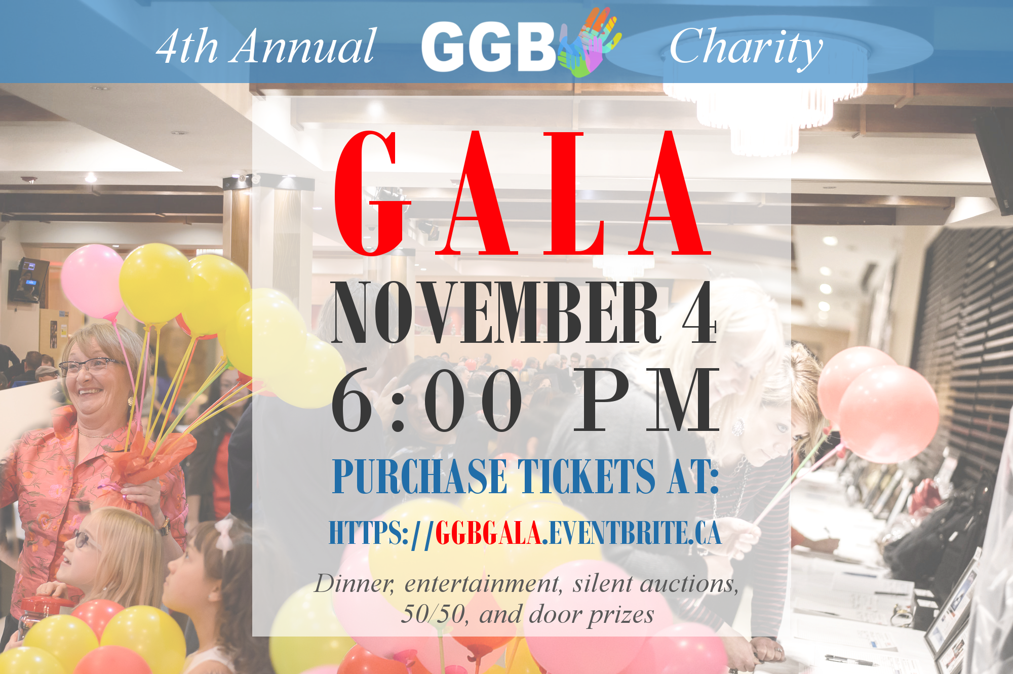 4th Annual GGB Fundraising Gala