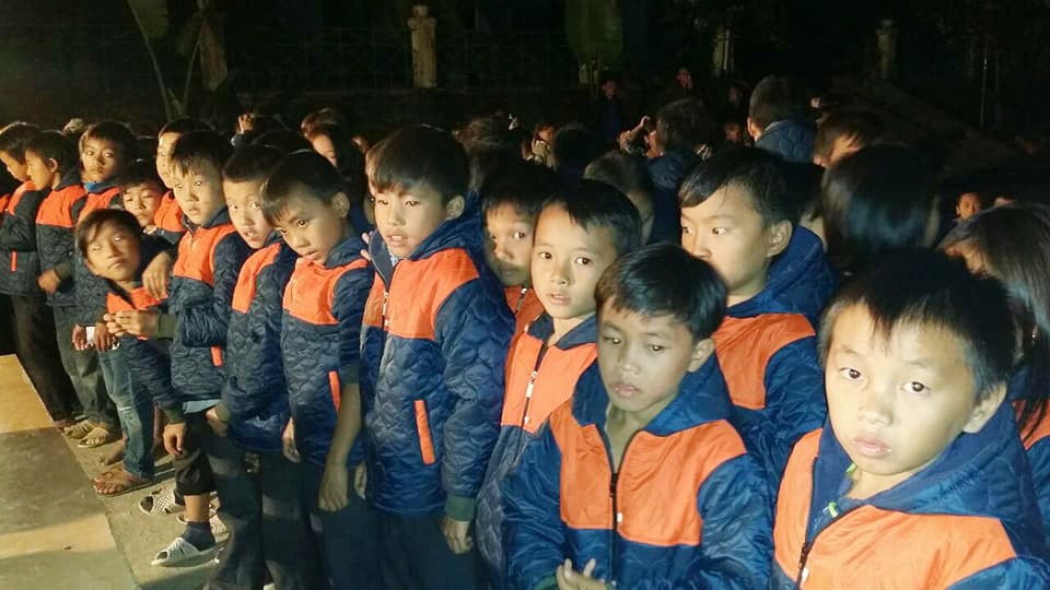 Children in Boarding Schools in Lai Chau, Vietnam