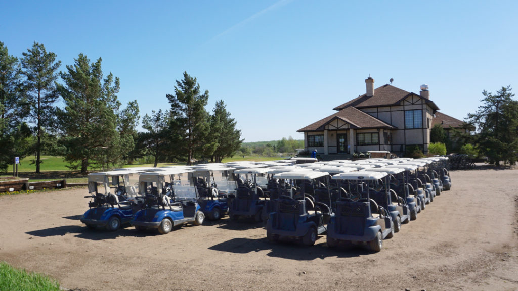 GooseHummock golf carts