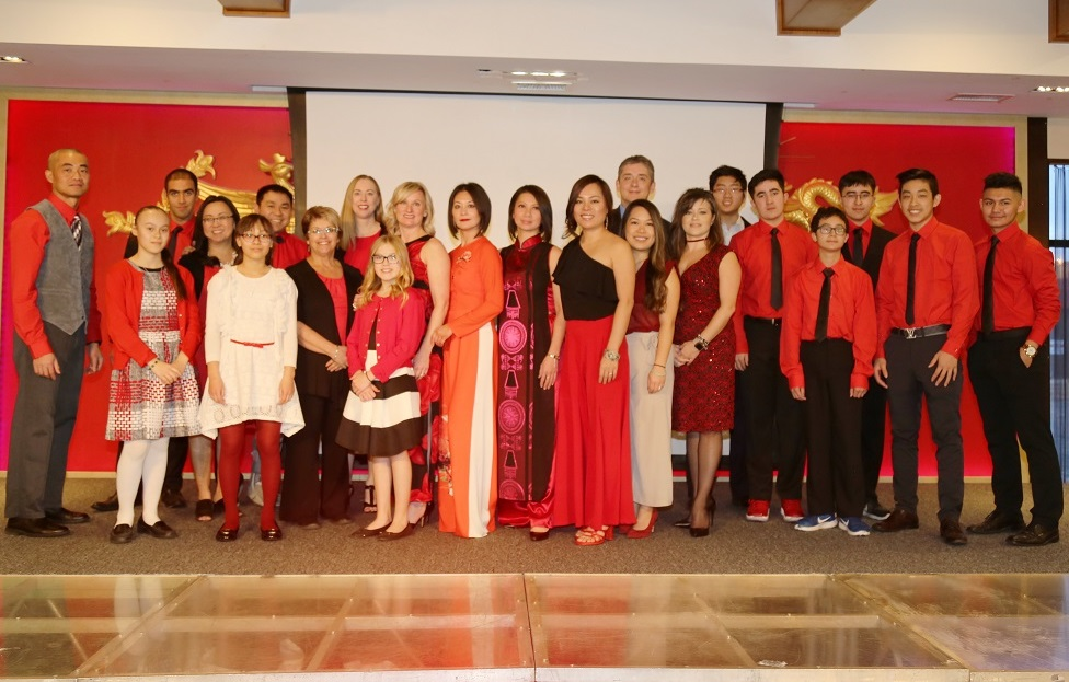 5th annual charity gala - members and volunteers