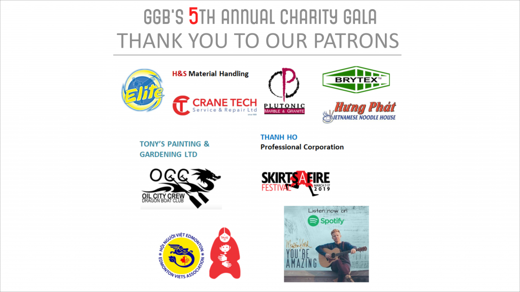 5th annual gala patrons