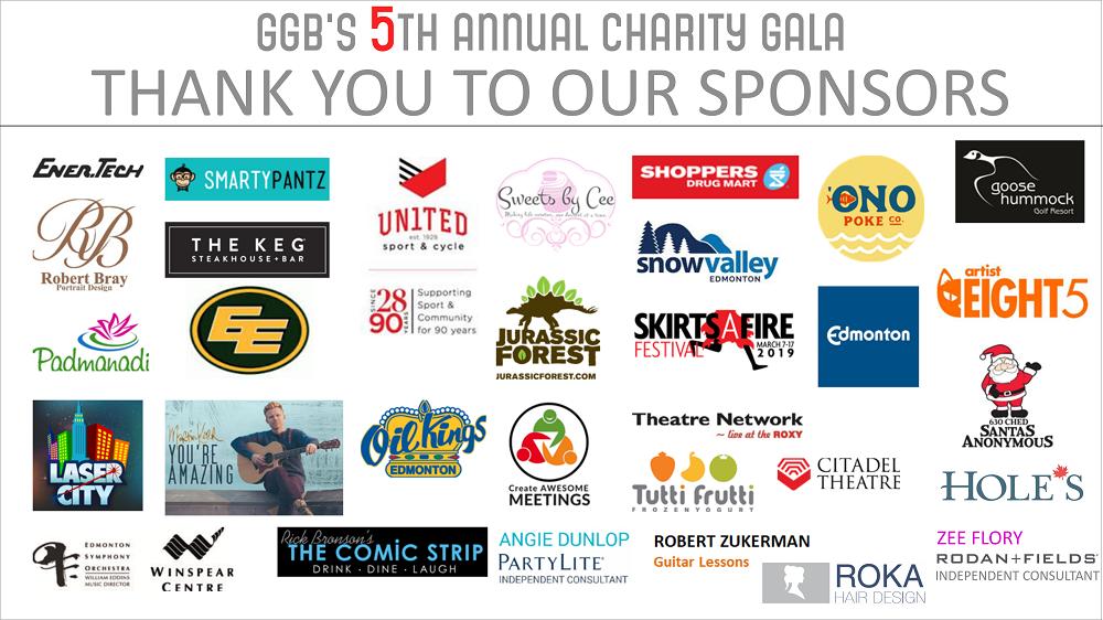 5th Annual Gala Sponsors