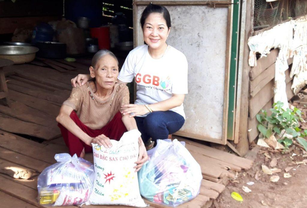 2018-10 - Elderly lady in Dalak-Vietnam