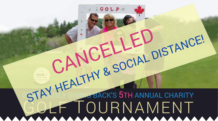 GGB's 5th golf tournament is cancelled due to Covid-19