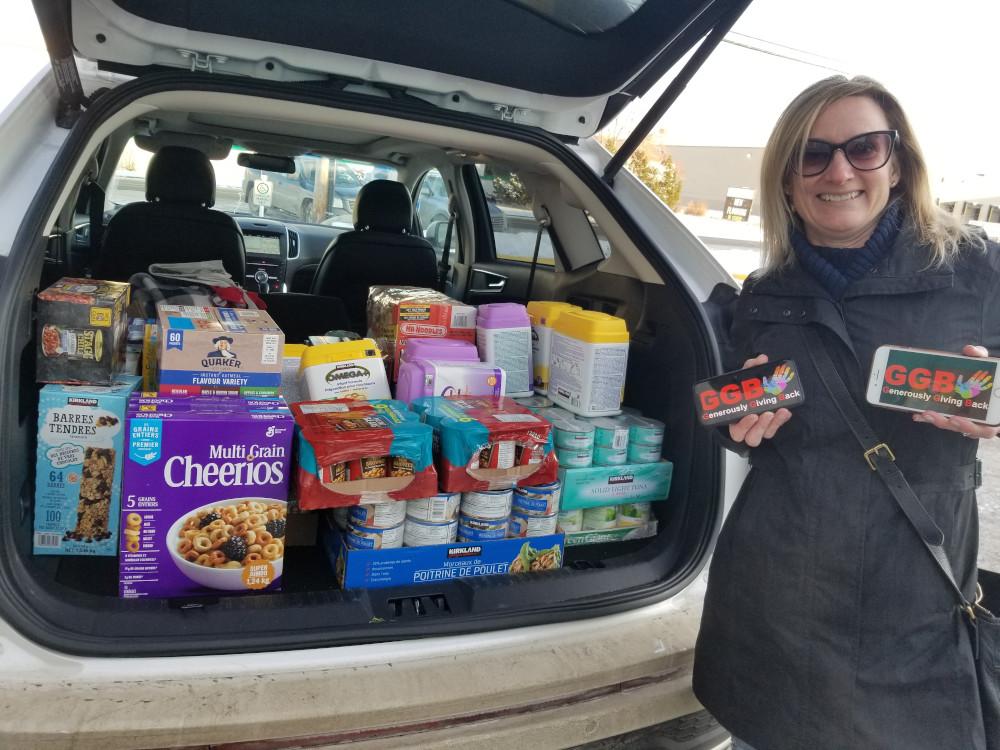Donation to Edmonton Food Bank 2019
